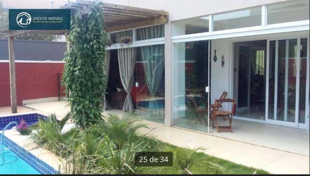 casa residencial à venda, reserva da serra, jundiaí - ca2774