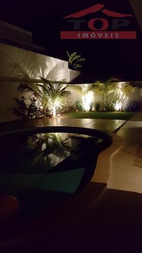 casa residencial à venda, residencial lago sul, bauru. - ca0385