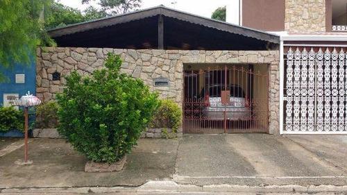 casa residencial à venda, residencial nova bandeirante, campinas. - ca6463