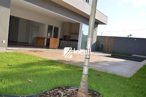 casa residencial à venda, residencial quinta do golfe, são josé do rio preto. - ca1468
