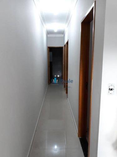 casa residencial à venda, residencial santa paula, jacareí. - ca0747