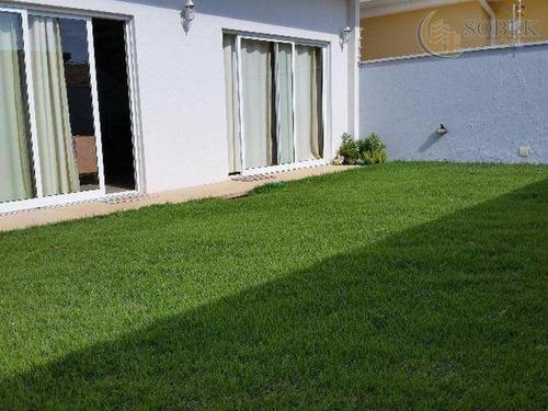 casa residencial à venda, residencial terras do barão, campinas. - ca0177
