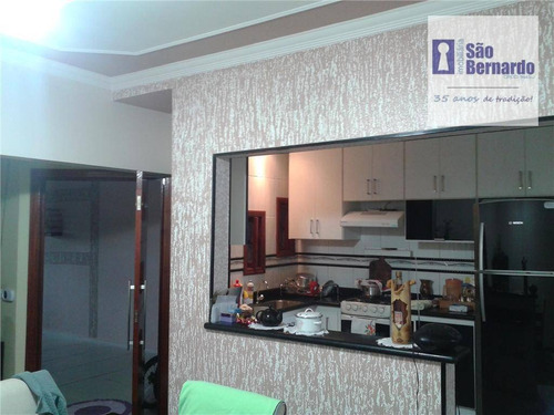casa residencial à venda, residencial vale das nogueiras, americana. - ca0220