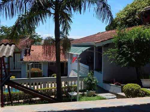 casa residencial à venda, retiro das fontes, atibaia. - ca1673