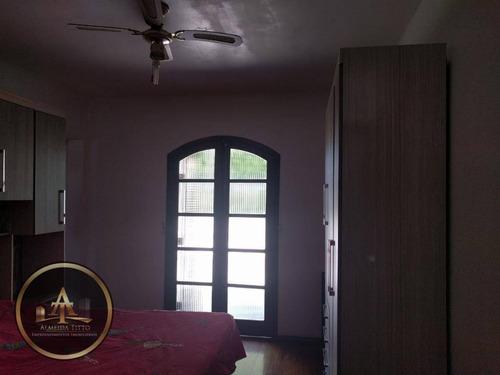 casa residencial à venda, rochdale, osasco. - ca0627