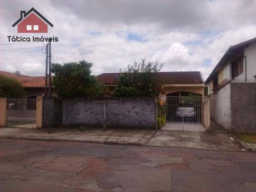 casa residencial à venda, santa quitéria, curitiba. - ca0071