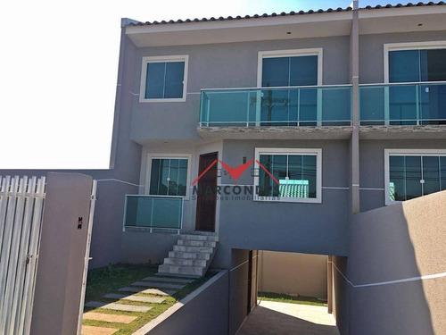 casa residencial à venda, santa terezinha, fazenda rio grande. - ca0159
