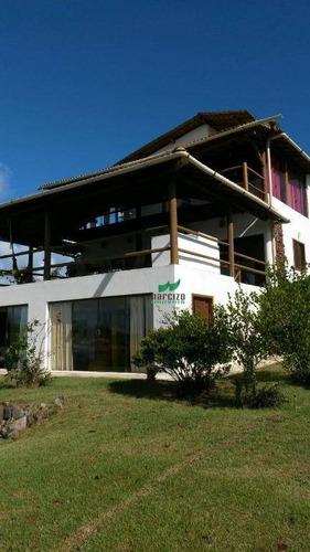 casa residencial à venda, sauipe, abrantes (camaçari). - ca2494