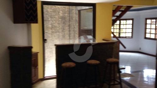 casa residencial à venda, serra grande, niterói. - ca0483
