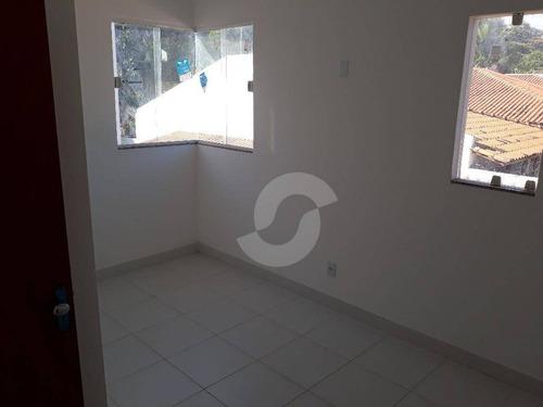 casa residencial à venda, serra grande, niterói. - ca0859