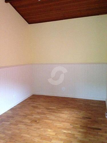 casa residencial à venda, serra grande, niterói. - ca0932
