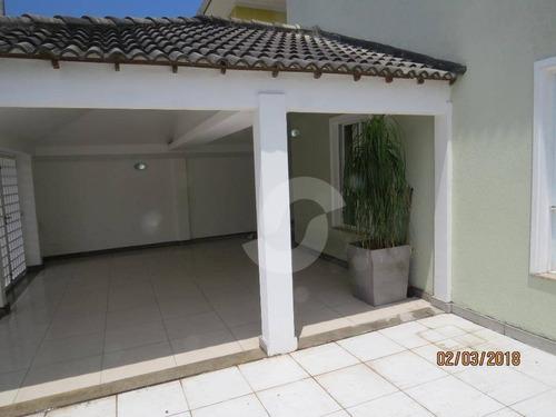 casa residencial à venda, serra grande, niterói. - ca1388