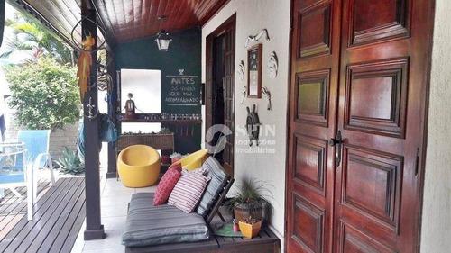 casa residencial à venda, são francisco, niterói. - ca0089