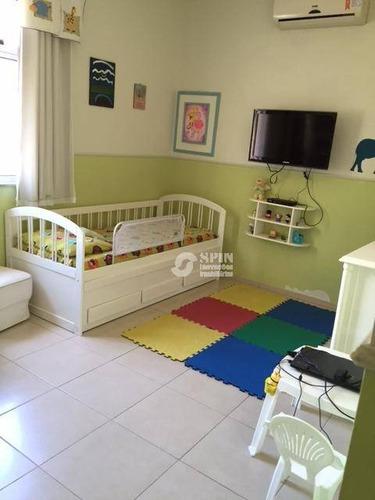 casa residencial à venda, são francisco, niterói. - ca0188