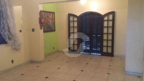 casa residencial à venda, são francisco, niterói. - ca0693