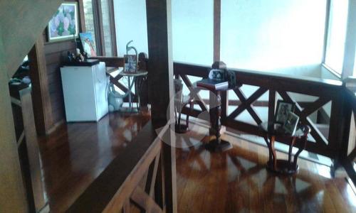 casa residencial à venda, são francisco, niterói. - ca0726
