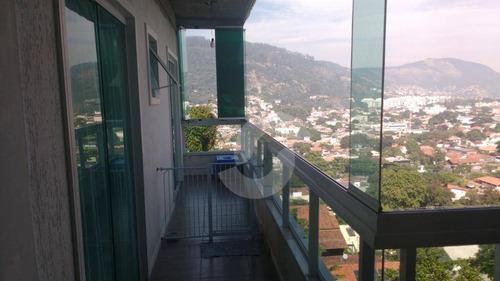 casa residencial à venda, são francisco, niterói. - ca1015