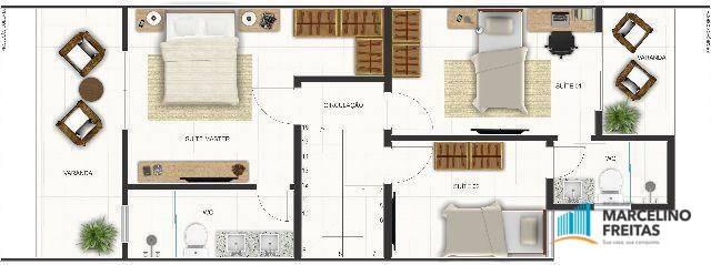 casa residencial à venda, tamatanduba, eusébio - ca1134. - ca1134