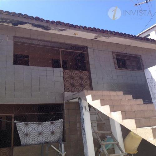 casa residencial à venda, tambaú, joão pessoa - ca1014. - ca1014