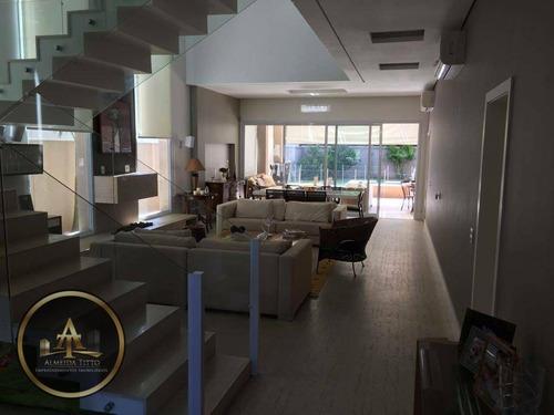 casa residencial à venda, tamboré, santana de parnaíba. - ca0590