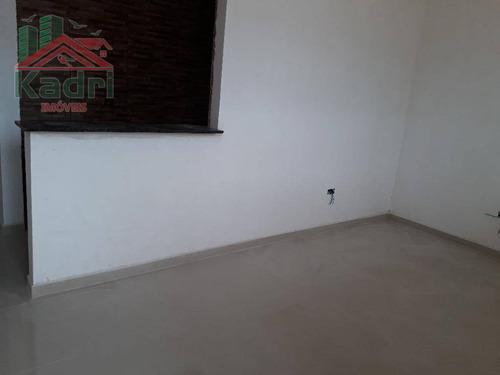 casa residencial à venda, tude bastos (sítio do campo), praia grande 2 dormitórios. - ca0235