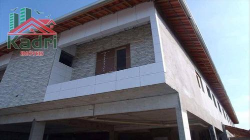 casa residencial à venda, tude bastos (sítio do campo), praia grande. - ca0046