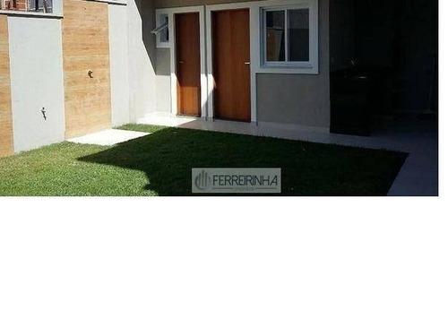 casa residencial à venda, urbanova, são josé dos campos. - ca1018