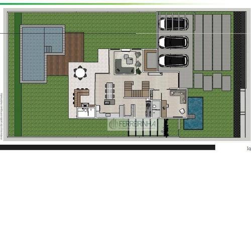 casa residencial à venda, urbanova, são josé dos campos. - ca1297