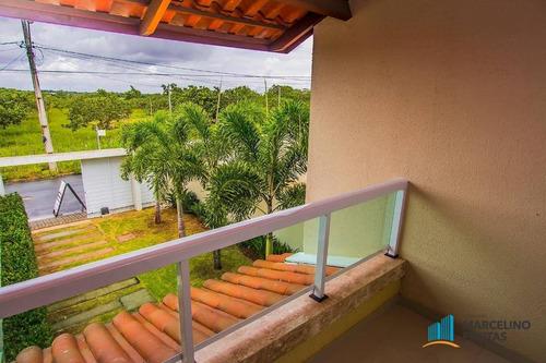 casa residencial à venda, urucunema, eusébio - ca0724. - ca0724