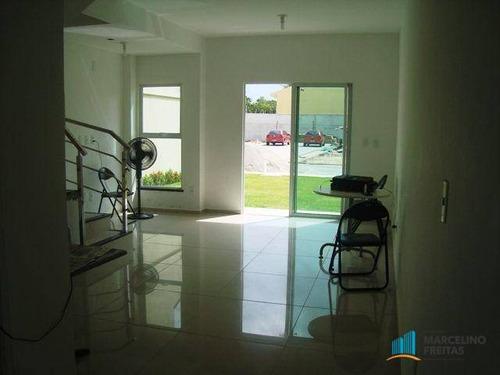 casa residencial à venda, urucunema, eusébio - ca0726. - ca0726