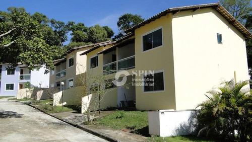 casa residencial à venda, várzea das moças, niterói. - ca0122