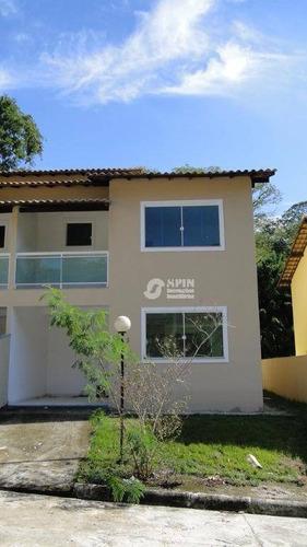 casa residencial à venda, várzea das moças, niterói. - ca0123