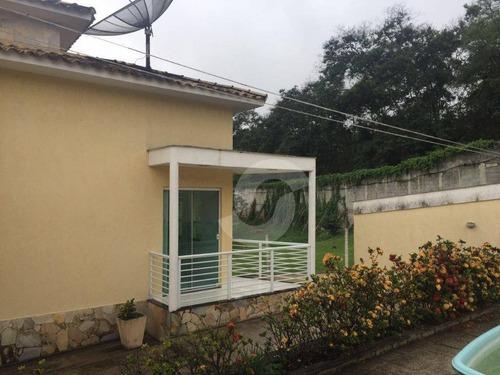casa residencial à venda, várzea das moças, niterói. - ca0853