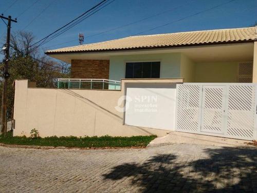casa residencial à venda, venda das pedras, itaboraí. - ca0286