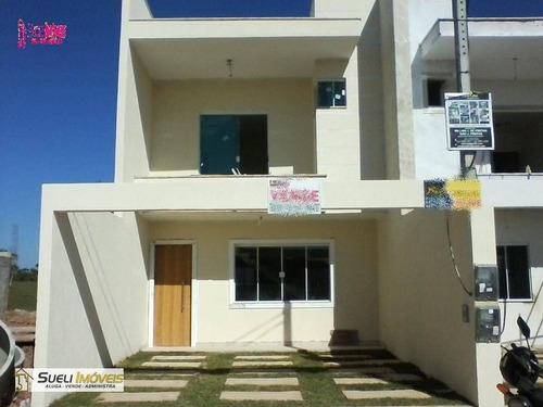 casa residencial à venda, verdes mares, macaé. - ca0175