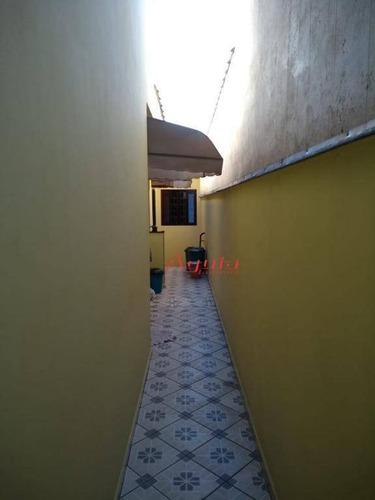 casa residencial à venda, vila alto de santo andré, santo andré. - ca0380