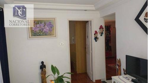 casa residencial à venda, vila alto de santo andré, santo andré. - ca2075