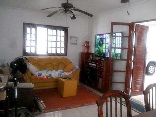 casa residencial à venda, vila assunção, praia grande. - ca0032