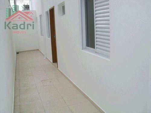 casa residencial à venda, vila assunção, praia grande. - ca0172