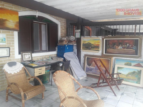 casa residencial à venda, vila assunção, praia grande. - codigo: ca0083 - ca0083