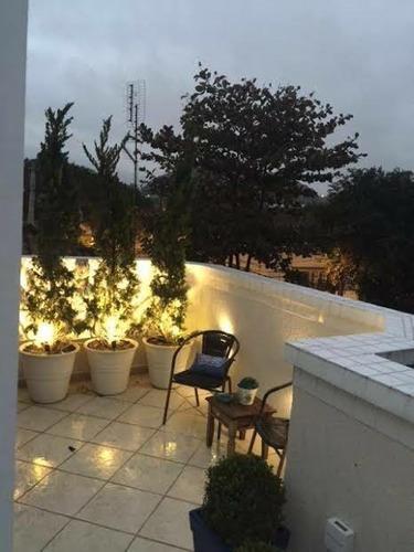 casa residencial à venda, vila belmiro, santos. - ca0273