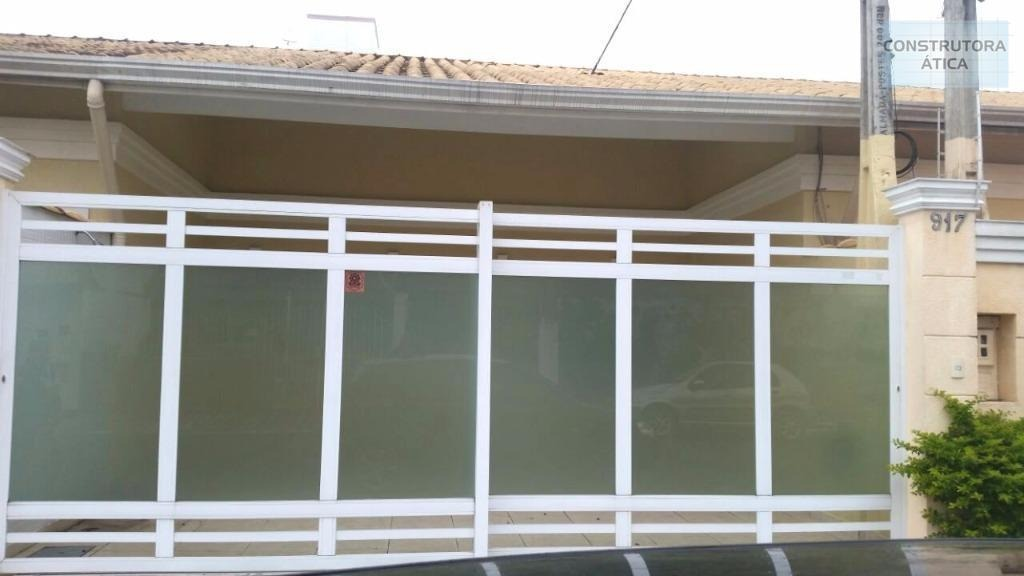 casa residencial à venda, vila caiçara, praia grande. - ca0003