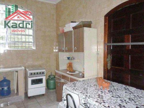 casa residencial à venda, vila caiçara, praia grande. - ca0030