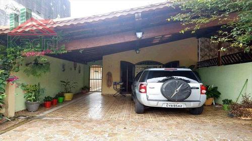 casa residencial à venda, vila caiçara, praia grande. - ca0173