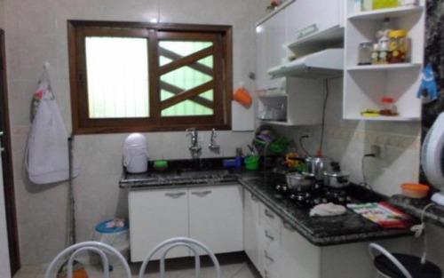 casa residencial à venda, vila caiçara, praia grande - ca2602.