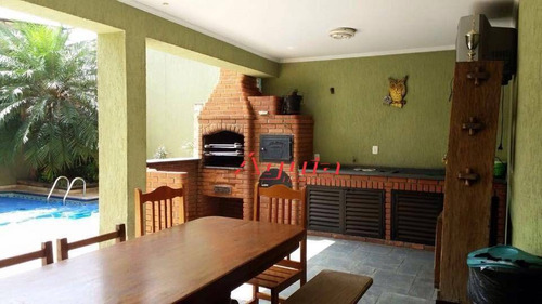 casa residencial à venda, vila camilópolis, santo andré. - ca0431