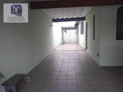 casa residencial à venda, vila camilópolis, santo andré. - ca2353