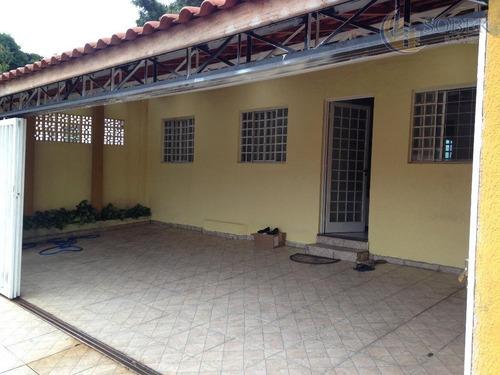 casa residencial à venda, vila castelo branco, campinas. - ca0274