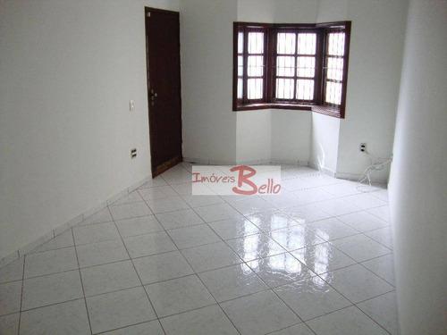 casa residencial à venda, vila cruzeiro, itatiba. - ca1008