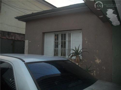 casa  residencial à venda, vila dalila, são paulo. - codigo: ca0142 - ca0142